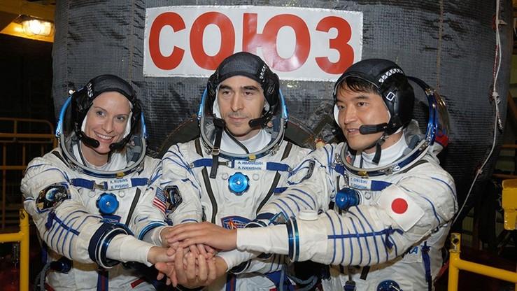 Astronauci cali i zdrowi dotarli do stacji kosmicznej