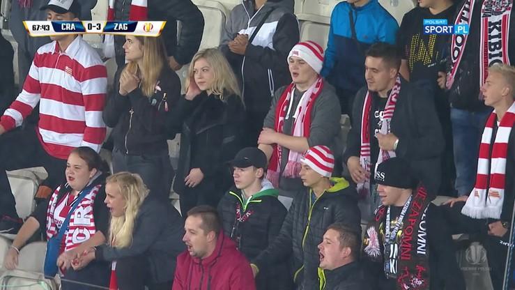 Kibice Cracovii przy 0:3 z Zagłębiem: Puchar jest nasz!