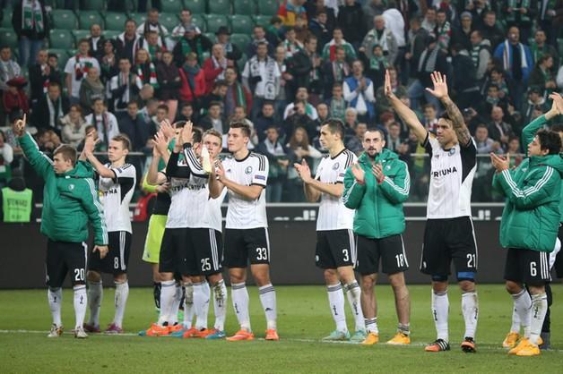 Legia wygrała z Metalistem - jest awans