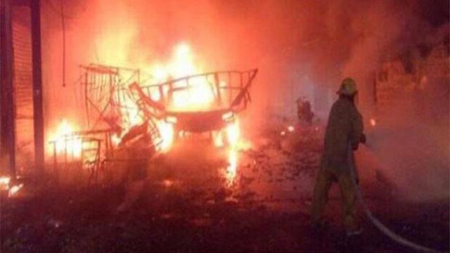 Meksyk: 14 osób zginęło w eksplozji magazynu fajerwerków