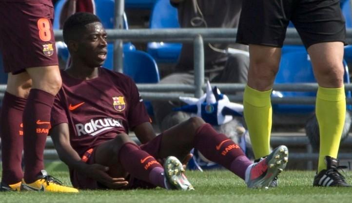 Gwiazda Barcelony wznowiła treningi
