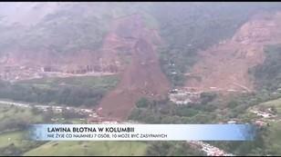 Groźna lawina błotna w Kolumbii