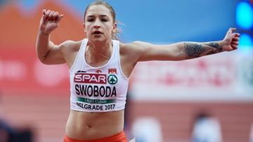 2017-03-05 HME Belgrad 2017: Swoboda w finale biegu na 60 m