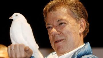 07-10-2016 12:59 Prezydent Kolumbii tegorocznym laureatem Pokojowej Nagrody Nobla