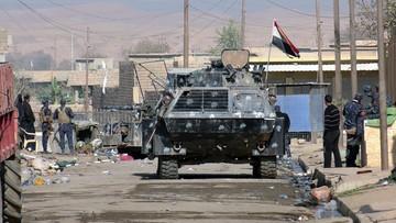 07-11-2016 14:19 Iracka armia odbiła strategiczną miejscowość na południe od Mosulu