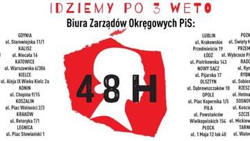 """24-07-2017 21:12 """"Dajemy Panu 48 godzin na zawetowanie trzeciej ustawy"""". Kobiety stawiają ultimatum prezydentowi"""
