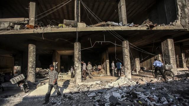 Syria: siły wspierane przez USA kontrolują 40 proc. terytorium Manbidżu