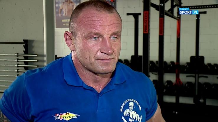 Pudzianowski: Przygotowuję się jak na mistrza świata