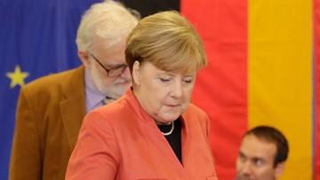 24-09-2017 17:09 Wybory w Niemczech: zagłosowało już 41,1 proc. uprawnionych, w tym Angela Merkel