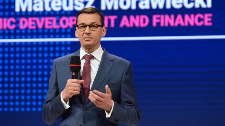Morawiecki: to nie fair, gdy Francuzi i Niemcy próbują ograniczyć swobodę usług
