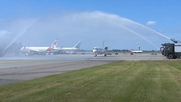Pierwszy samolot dla VIP-ów wylądował w Warszawie. Otrzymał imię ks. Józefa Poniatowskiego