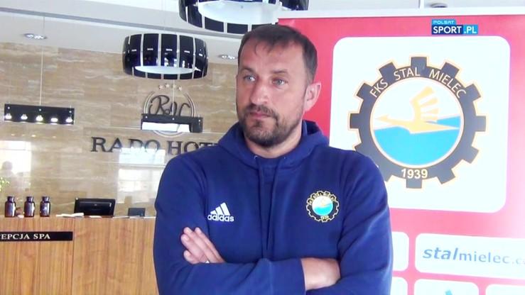Trener Stali Mielec: Przygotowania do sezonu rozpoczęliśmy w komplecie