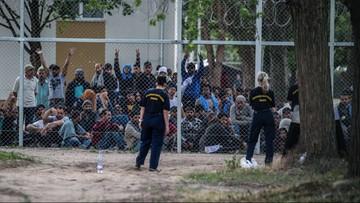 06-06-2016 14:24 Ewakuowano nielegalne obozowisko migrantów w Paryżu