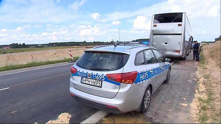 Ciężarówka zderzyła się z autokarem wiozącym dzieci. 5 osób w szpitalu