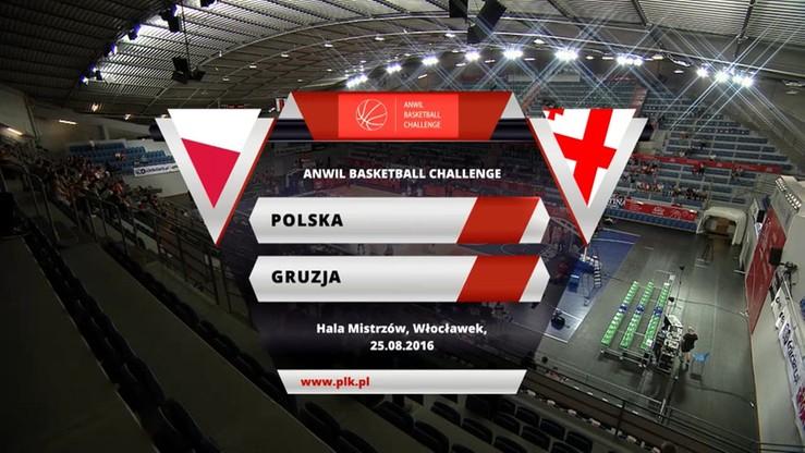 Polska - Gruzja 80:71. Skrót meczu