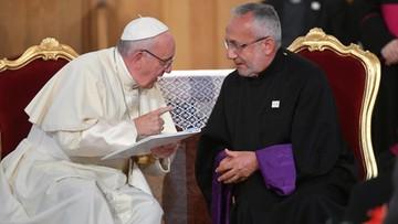 01-10-2016 15:58 Papież o szansie wizytę w Iraku: Inszallah, jak Bóg pozwoli