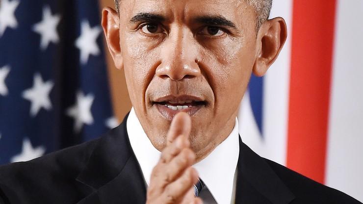 """Obama pod wrażeniem """"odwagi"""" swojej """"przyjaciółki"""" Merkel"""