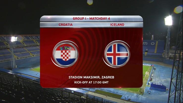 2016-11-12 Chorwacja - Islandia 2:0. Skrót meczu