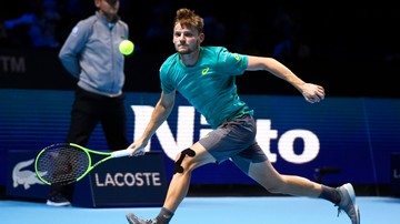 2017-11-17 ATP Finals: Goffin wygrał z Thiemem i awansował do półfinału
