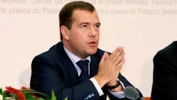 12-08-2016 17:51 Miedwiediew: Rosja może zerwać stosunki dyplomatyczne z Ukrainą
