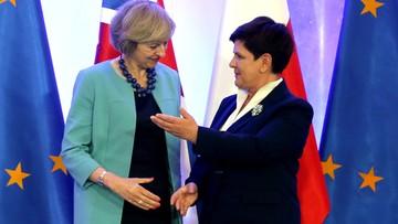28-07-2016 20:37 Brytyjczyk tak Unii, jak Unia Brytyjczykowi. Po spotkaniu premier Szydło z Theresą May