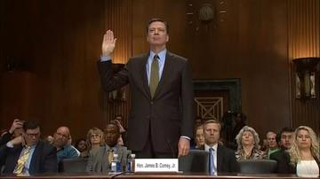 Były szef FBI zgodził się zeznawać przed senacką komisją wywiadu