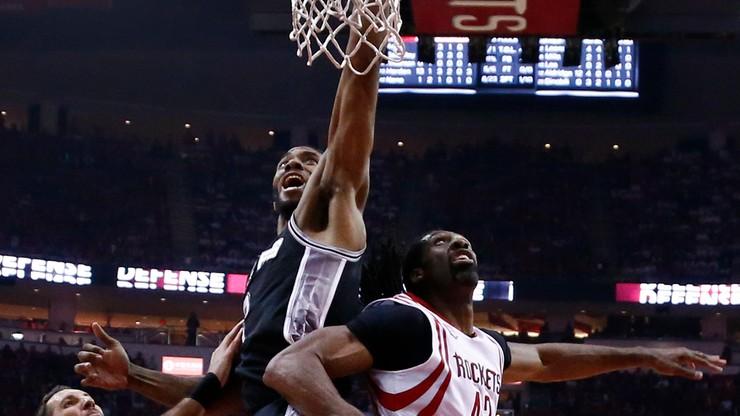 NBA: Rockets bez podstawowego gracza w play-off