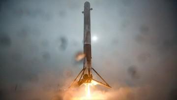 18-01-2016 09:31 Falcon 9 eksplodowała zaraz po tym jak wróciła na Ziemię
