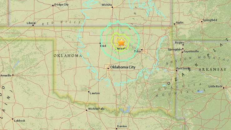 USA: trzęsienie ziemi odczuwalne w kilku stanach. Trwało około 15 sekund