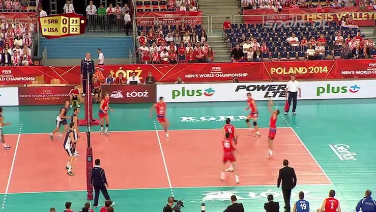 Serbia - USA 1:3. Skrót meczu