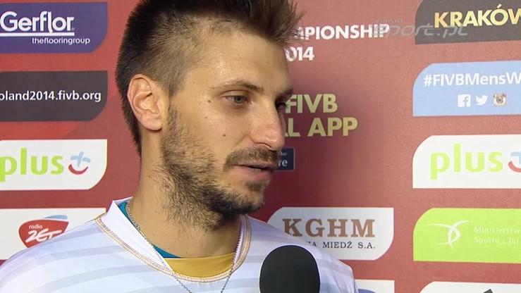 Rouzier: Nie mogę się doczekać meczu z Polską