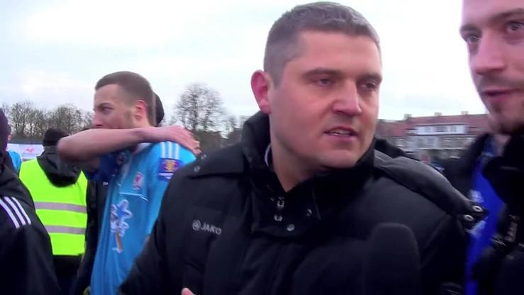 Trener Błękitnych: To Lech jest faworytem