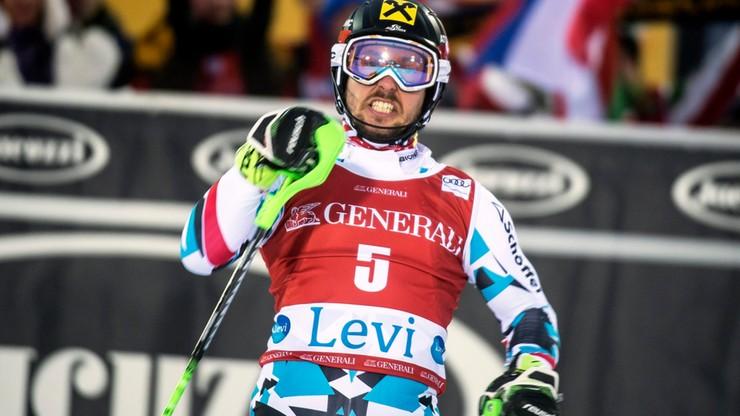 Hirscher wygrał slalom w Levi