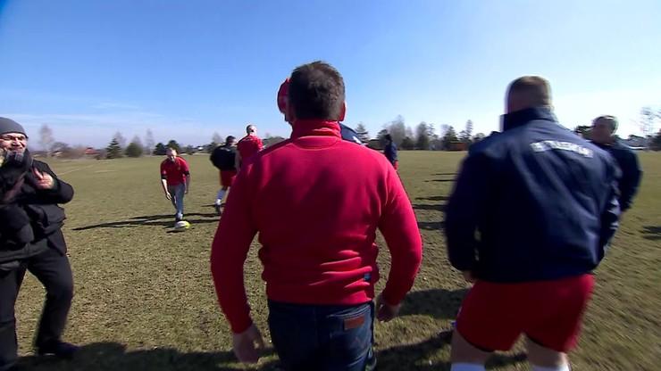 2016-03-19 Dziennikarz Polsatu Sport został rugbystą!