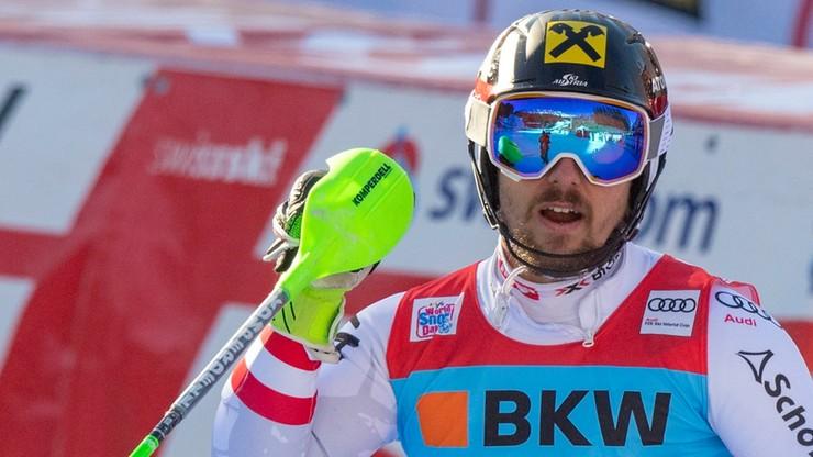 Alpejski PŚ: Kolejne pewne zwycięstwo Hirschera