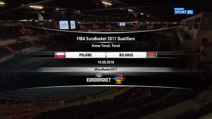 Polska - Białoruś 57:76. Skrót meczu
