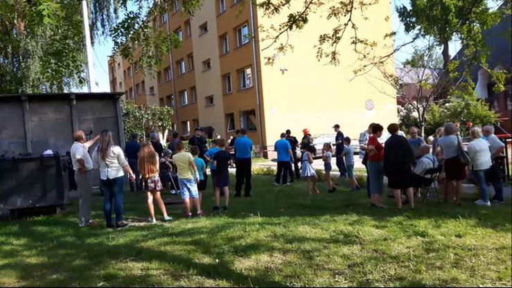 Wybuch butli z gazem w Gliwicach. 5 osób rannych