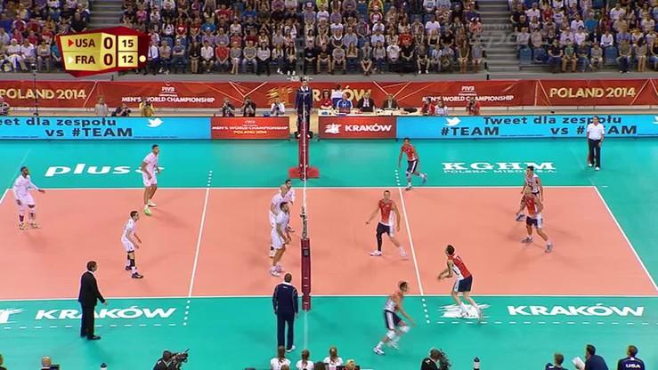 USA - Francja 1:3. Skrót meczu