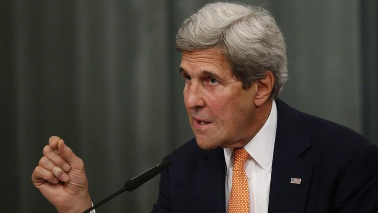 Kerry apeluje, by Turcja była ostrożna z oskarżeniami pod adresem USA