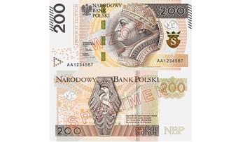 09-02-2016 13:50 Jaśniejszy, ładniejszy i bezpieczniejszy. Zmodernizowany banknot 200 zł od piątku w obiegu. NBP zapowiada banknot 500 zł