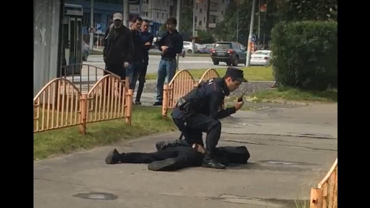 Atak nożownika w Rosji. Policja zastrzeliła sprawcę