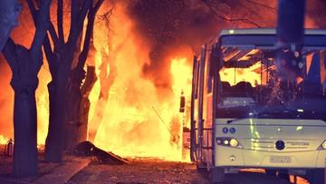 17-02-2016 21:09 Turcja: wybuch w Ankarze. Wzrosła liczba ofiar