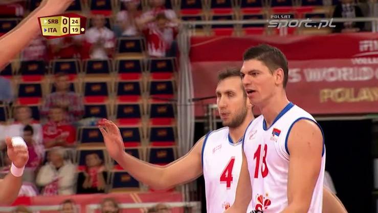 Serbia - Włochy 3:0. Skrót meczu