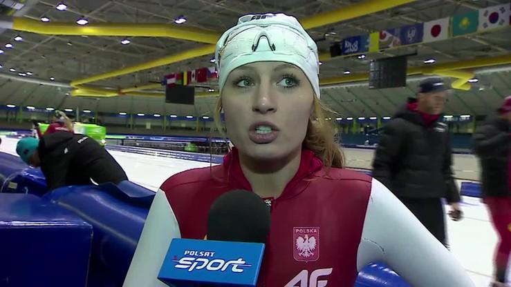 2014-12-11 Aleksandra Goss: Chcę pobić rekord życiowy na trzy kilometry