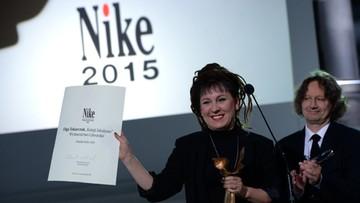 """05-10-2015 13:57 """"Księgi Jakubowe"""" Olgi Tokarczuk nagrodzone Literacką Nagrodą Nike"""