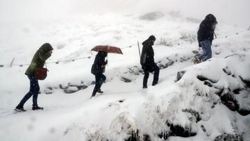 22-09-2017 09:35 Zimowa aura w Tatrach. Śnieg padał od środy