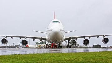 08-01-2016 16:14 Qantas ma boeinga z... pięcioma silnikami. Poleciał tak z Australii do Afryki