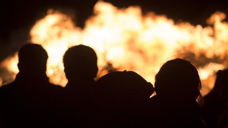 Pożar budynków socjalnych w Koszalinie. Ponad 30 osób ewakuowanych