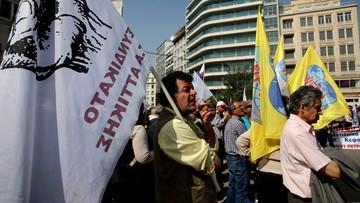 07-04-2016 13:20 Grecja strajkuje. Zamknięte szkoły, odwołane loty