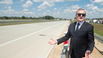 """01-07-2016 19:00 Nowy odcinek autostrady A1. """"Inwestycja ma ogromne znaczenie dla Łodzi i Polski"""""""